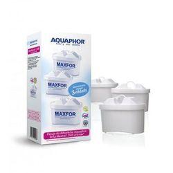 Aquaphor Dzbanek filtrujący Amethyst 2,8 l + 3 wkłady B100-25 Maxfor (kolor wiśniowy) (4744131013503)