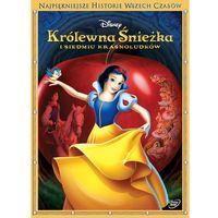 Najpiękniejsze historie wszech czasów. Królewna Śnieżka i siedmiu krasnoludków [DVD]