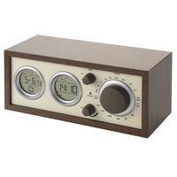 Radio drewniane z termometrem Avenue 10801100, 10801100