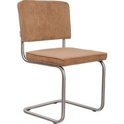 Zuiver  krzesło ridge brushed rib camelowe 1100088