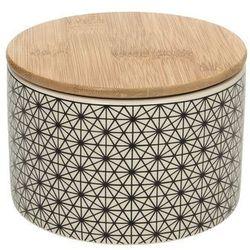 Dekoria Pojemnik ceramiczny Scandi wys. 8,5cm, 13 × 13 × 8,5 cm