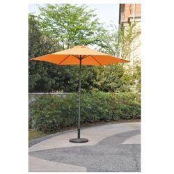 Parasol ogrodowy przeciwsłoneczny ø 270 cm terakota