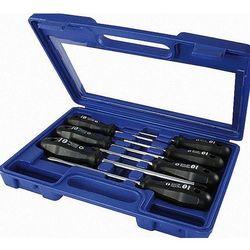 NAREX Zestaw wkrętaków PROFI LINE w plastikowej walizce - 7szt, płaskie, PH, PZ 862411