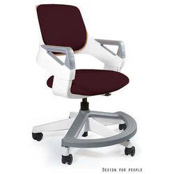 Fotel Unique ROOKEE - burgundy - ZŁAP RABAT: KOD70
