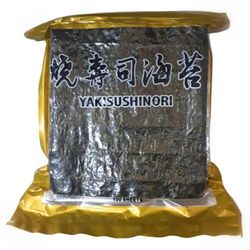 Glony do sushi Nori Gold 100 szt. - Daichi (5906395132331)