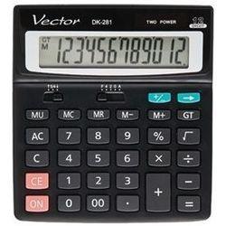 Kalkulator Vector DK-281 - Super Ceny - Rabaty - Autoryzowana dystrybucja - Szybka dostawa - Hurt, KLKVEC-2810