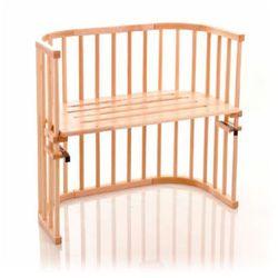 TOBI Babybay original Oddychające łóżeczko dostawne z drewna bukowego natura