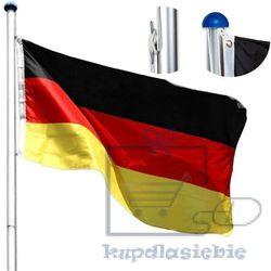 Max Maszt metalowy flagowy 6,5m z regulacją - niemiecka flaga (4048821490439)