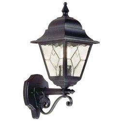 Zewnętrzna LAMPA ścienna NORFOLK NR1 Elstead KINKIET metalowa OPRAWA ogrodowa IP43 outdoor czarny - produkt z kategorii- Lampy ogrodowe