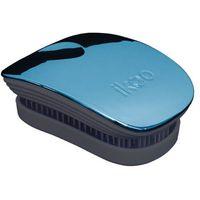 Ikoo  metallic pocket szczotka do włosów pacific black (4260376291082)