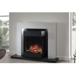 Flamerite fires - nowość 2021 Kominek wolnostojący flamerite fires luca 450 ze skrzynią na drewno. efekt płomienia radia flame - promocja