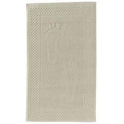 Soft cotton Dywanik łazienkowy step 50x90cm jasnobeżowy