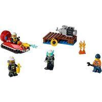 Lego CITY Strażacy-zestaw startowy (fire starter set) 60106