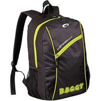 Plecak  baggy 15 czarno-zielony marki Spokey