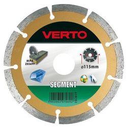 Tarcza do cięcia VERTO 61H3S1 115 x 22.2 diamentowa segmentowa od Media Expert