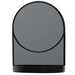 lustro malik metalowe czarne 373214-z marki Woood