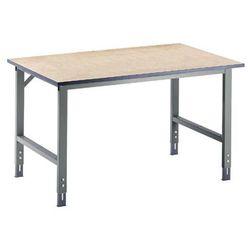 Rau Stół roboczy, z regulacją wysokości, 760 - 1080 mm, płyta mdf, szer. x głęb. 750