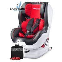 Fotelik samochodowy CARETERO Defender Plus Isofix red 2016