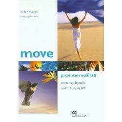 Move Pre-Intermediate coursebook with CD-ROM, książka w oprawie miękkej