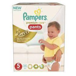 Pieluchomajtki Pampers Premium Care Junior rozmiar 5, 40 szt. z kategorii Pieluchy jednorazowe