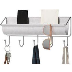 Umbra - organizer na akcesoria z wieszakami hammock, szary