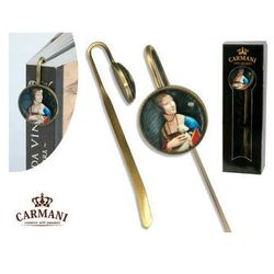 Zakładka do książki - L.Da Vinci - Dama z łasiczką - produkt z kategorii- Zakładki do książek
