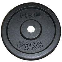Talerz HMS 20 kg Czarny + DARMOWY TRANSPORT! (5907695516531)