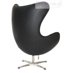 Fotel Jajo czarna skóra #06 - sprawdź w wybranym sklepie