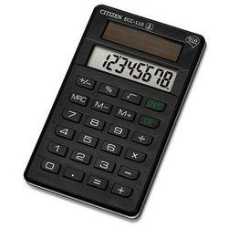 Citizen Kalkulator biurowy ecc-110, 8-cyfrowy, 118x70mm, czarny (4562195135074)