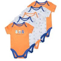 mothercare BOYS ROBOTS BABY 5 PACK Body orange, MC089