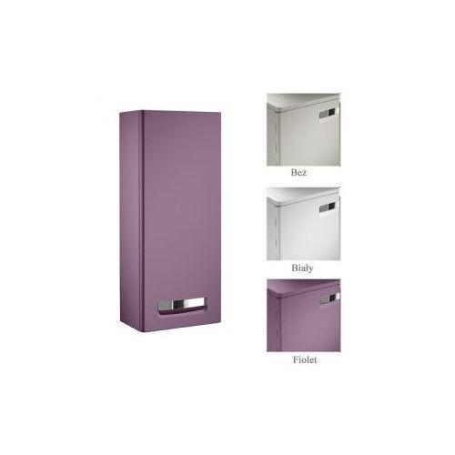 Roca Gap słupek łazienkowy niski fioletowy 34,4x20x80 cm z 1 drzwiami i 2 półkami A856528577 ze sklepu kac