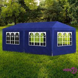vidaXL Namiot imprezowy, 3 x 6 m, niebieski (8718475837459)
