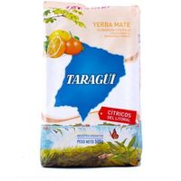 Taragui citricos del litoral 0,5kg yerba mate marki Intenson