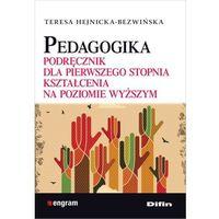 Pedagogika Podręcznik dla pierwszego stopnia kształcenia na poziomie wyższym, DIFIN