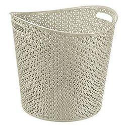 Koszyk My Style okrągły kremowy