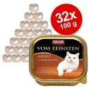 ANIMONDA Vom Feinsten Classic Cat smak: indyk i królik 6x100g (4017721832052)