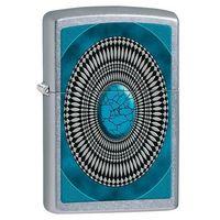 Zapalniczka Zippo Turquoise Design, Street Chrome