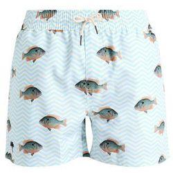 Oas BLUE FISH Szorty kąpielowe light green