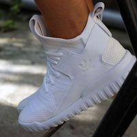Buty adidas Tubular X Primeknit S76039 - biały