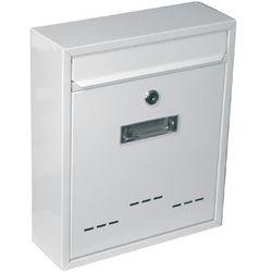 Skrzynka pocztowa jak małe białe 310x260x90mm