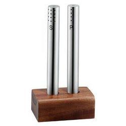Solniczka i pieprzniczka z drewnianą podstawką WMF - sprawdź w wybranym sklepie