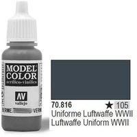 Vallejo  farba nr105 luftwaffe uniform 17ml, kategoria: farby modelarskie