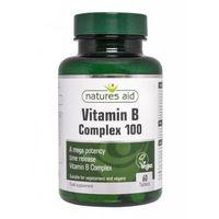 Witaminy B Complex 100 przedlużone działanie 60tb Natures Aid
