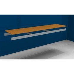 Julius vom hofe Dodatkowa półka, z trawersami i płytą wiórową, szer. x gł. 2250 (2x1125 mm) x 50