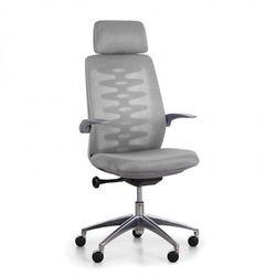 B2b partner Krzesło biurowe z oparciem siatkowym sitta grey, szary