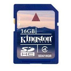 Kingston  sd4/16gb secure digital sdhc karta pamięci 16gb class 4