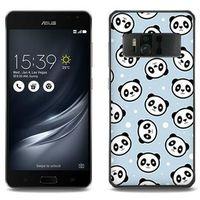 Fantastic Case - Asus Zenfone AR - etui na telefon Fantastic Case - panda na niebieskim tle, kolor niebieski