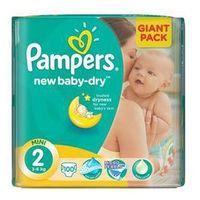 Pieluszki Pampers New Baby-dry rozmiarl. 2 Mini, 100 szt.