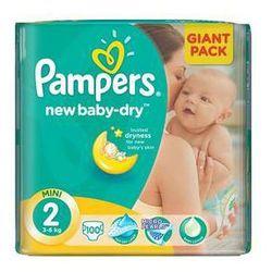 Pieluszki  new baby-dry rozmiarl. 2 mini, 100 szt. od producenta Pampers
