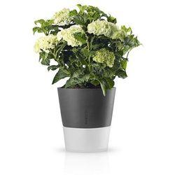 Eva solo  - samopodlewająca doniczka na zioła - 25 cm - stone grey